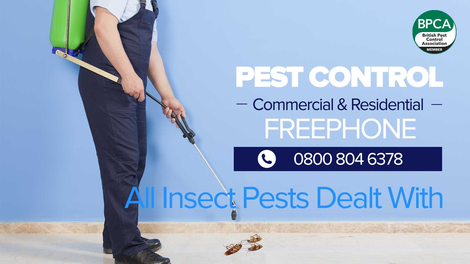 insect control lancashire